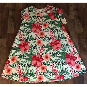 New LuLaRoe Jessie Pocket 2XL Dress Floral